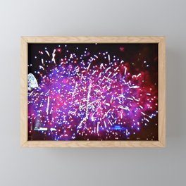 Fireworks Show Framed Mini Art Print