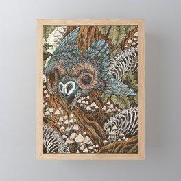 Bone Picker Framed Mini Art Print