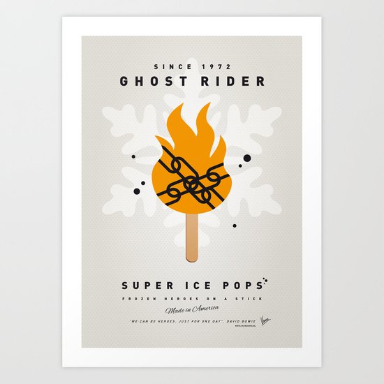 My SUPER ICE POP- No07 Art Print