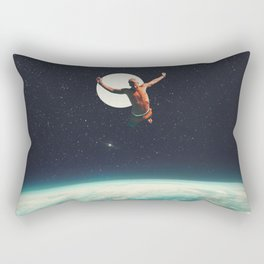Returning to Earth with a will to Change Rectangular Pillow