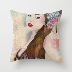 Good girls Throw Pillow