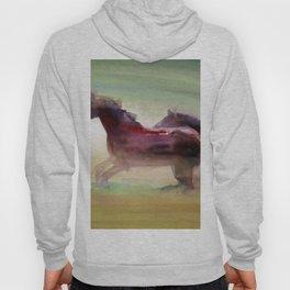 Running Horses Hoody