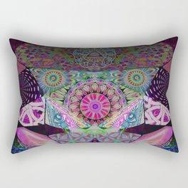 Diamond Mind Transmitter Rectangular Pillow