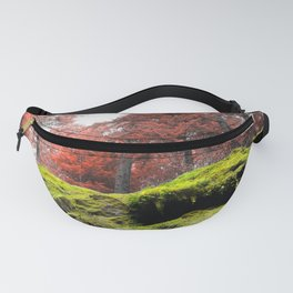 Rainbow Cavalcade Woods Forest Enchanted Oregon Pacific Northwest Fanny Pack