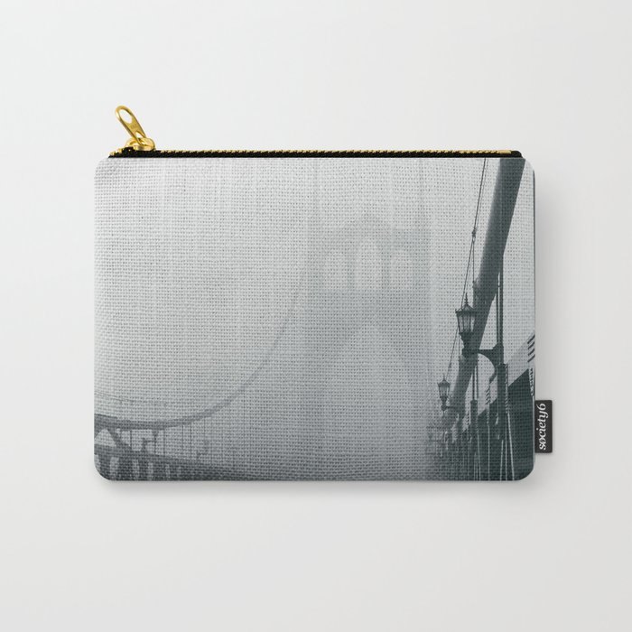 Grey St. Johns Carry-All Pouch