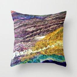Sheer Fashion - Amethyst II Throw Pillow