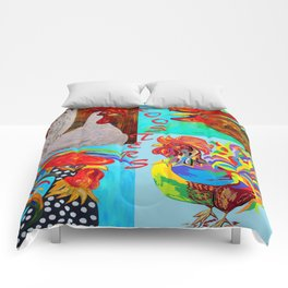 Rooster Menagerie Comforters