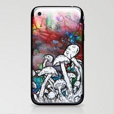 shrooms iPhone & iPod Skin
