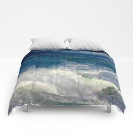 Crashing Down and Up Comforters
