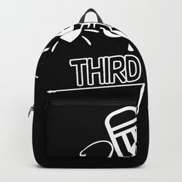 Back to School Hello 3rd Grade School Backpack