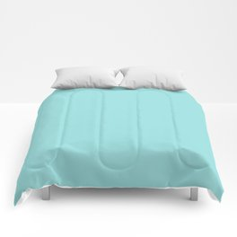 LIMPET SHELL PANTONE 13-4810 Comforters