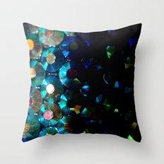 sparkle x fade Throw Pillow
