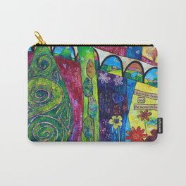 I Feel Bliss Carry-All Pouch