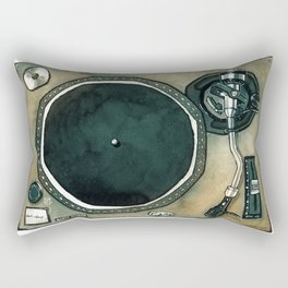 Turntable Rectangular Pillow