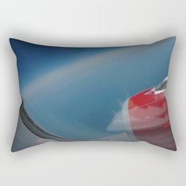 deep blue skies Rectangular Pillow