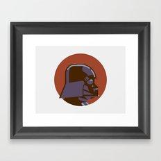 Headgear - Darth Vader Framed Art Print