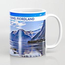 Mitre Peak, Milford Sound, Fiordland, South Island, New Zealand Coffee Mug