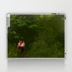 FOX IN A COOL GREEN WORLD Laptop & iPad Skin