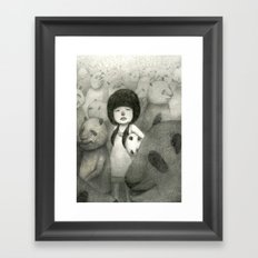 Find Your Identity Framed Art Print