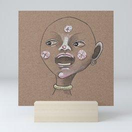 Moon boy singing moon song Mini Art Print