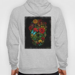 Sugar Floral Skull Hoody
