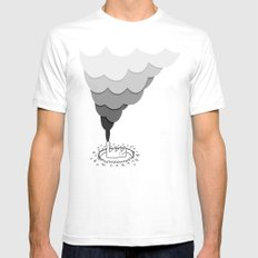 The Factory and the People Mens Fitted Tee White SMALL