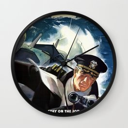 Don't Slow Up The Ship Wall Clock