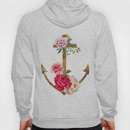 Anchor & flowers Hoody