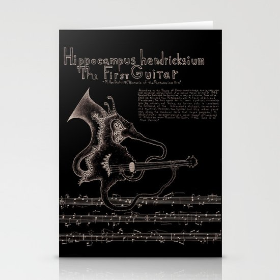 Hippocampus Hendricksium  Stationery Cards