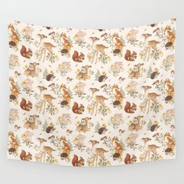 Fawn & Friends Wall Tapestry