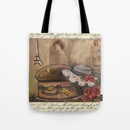 gentle lady's hat Tote Bag