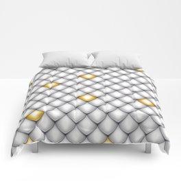 Fish Scale Pattern Design Comforters