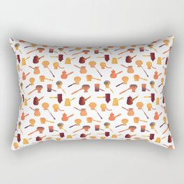 The long handle cezve coffee Rectangular Pillow