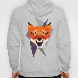 Ferocious Geometric Fox Hoody