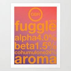 fuggle single hop Art Print