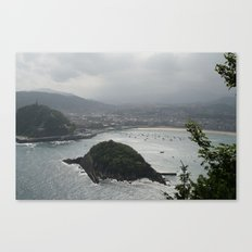 san sebastian, spain Canvas Print