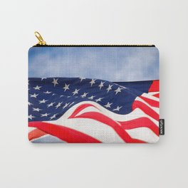 Its a grand ol flag waving in the breeze on a beautiful Memorial Day Carry-All Pouch