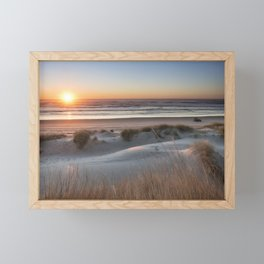 South Jetty Beach Sunset, No. 3 Framed Mini Art Print