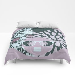 Afro Diva : Sophisticated Lady Pastel Comforters