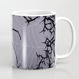 Briar Web - Gray Coffee Mug