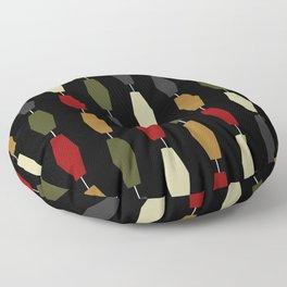 Colima - Black Floor Pillow