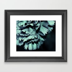ice blue Framed Art Print