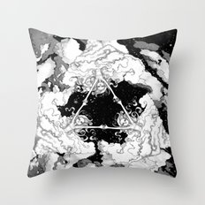 Kaleidoscope Sky Throw Pillow