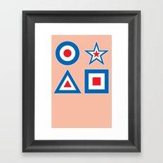 Target Practice 2 Framed Art Print