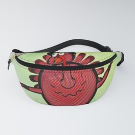 Turkey Talking Fanny Pack