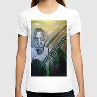 allyson johnson T-shirts featuring Robert Johnson  by Robert E. Richards