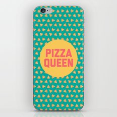 Pizza Queen Funny Quote (Graphic) iPhone & iPod Skin