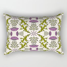 Wild Thistle Meadow Rectangular Pillow