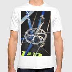 Gearing up Mens Fitted Tee White MEDIUM