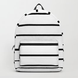 Minimalist Stripes Backpack